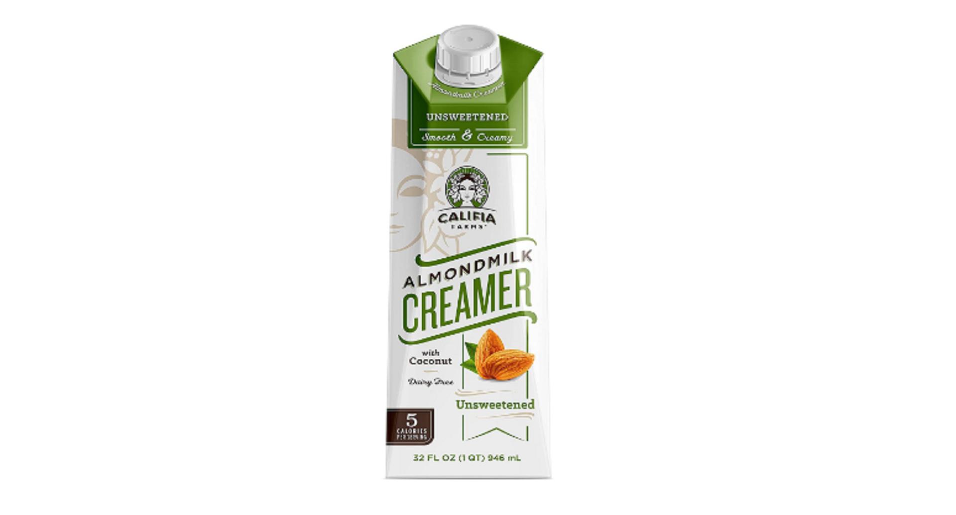 califia Farms coffee creamer