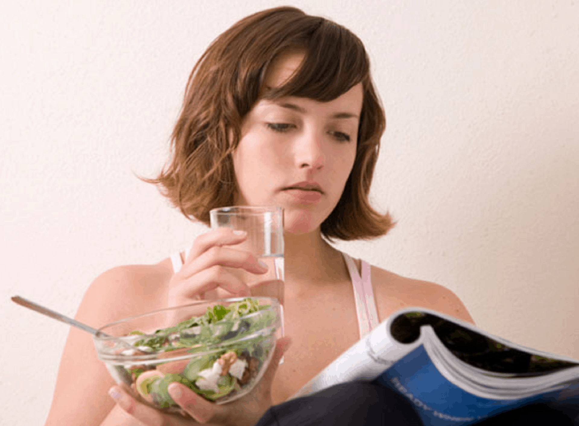 don't drink water before meal