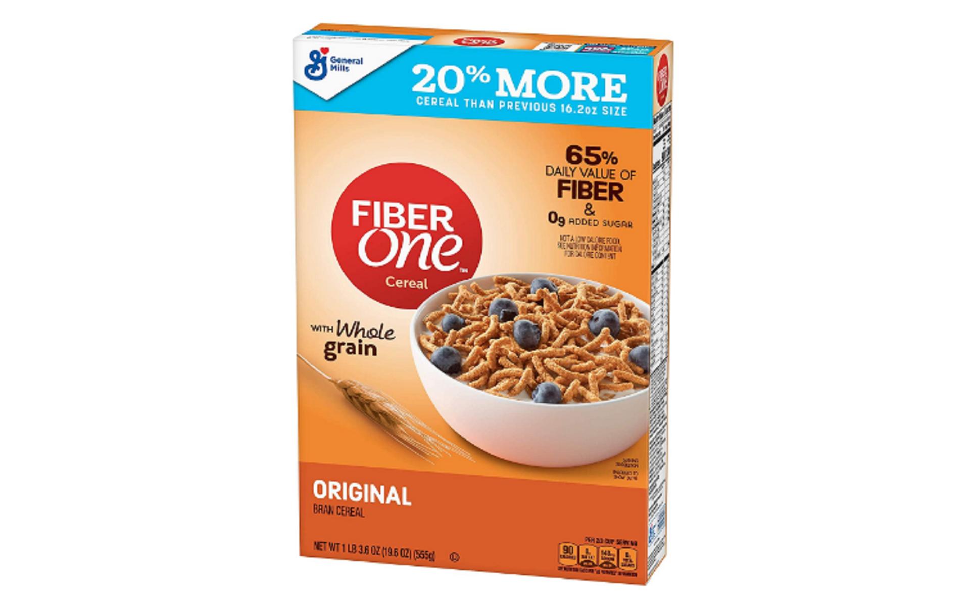 fiber one™ breakfast cereal, original bran