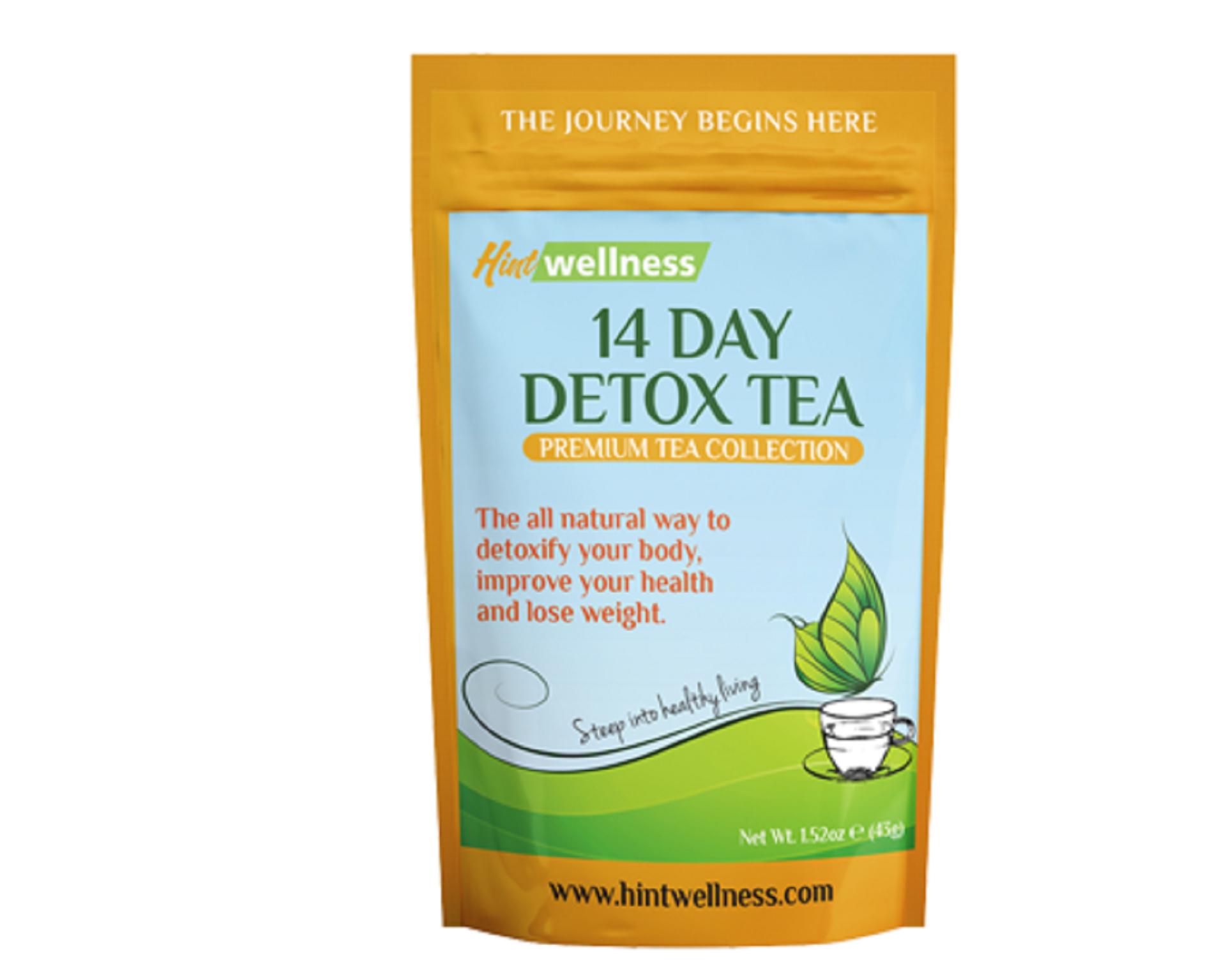 hint wellness 14 day detox tea