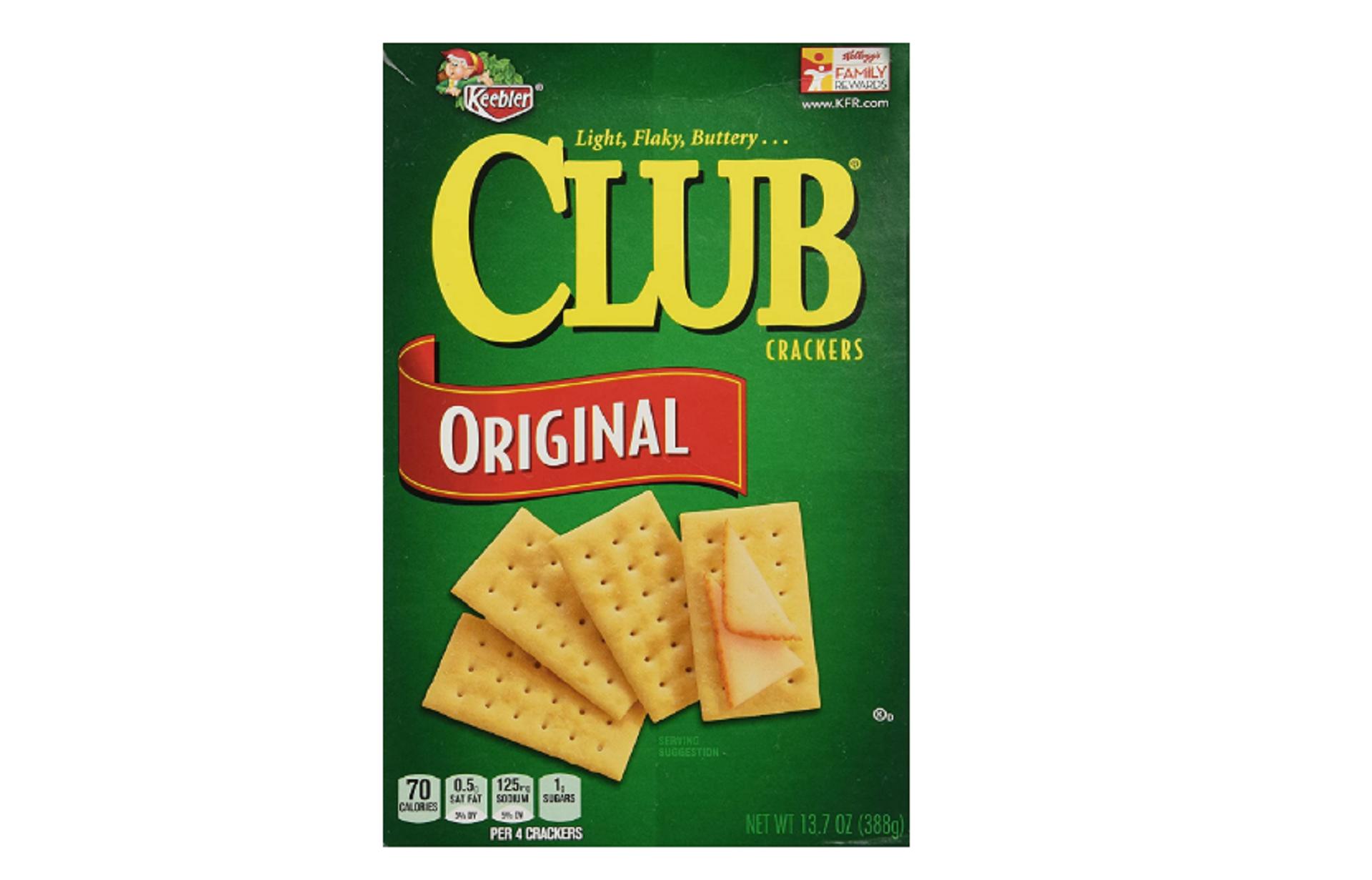 keebler club crackers