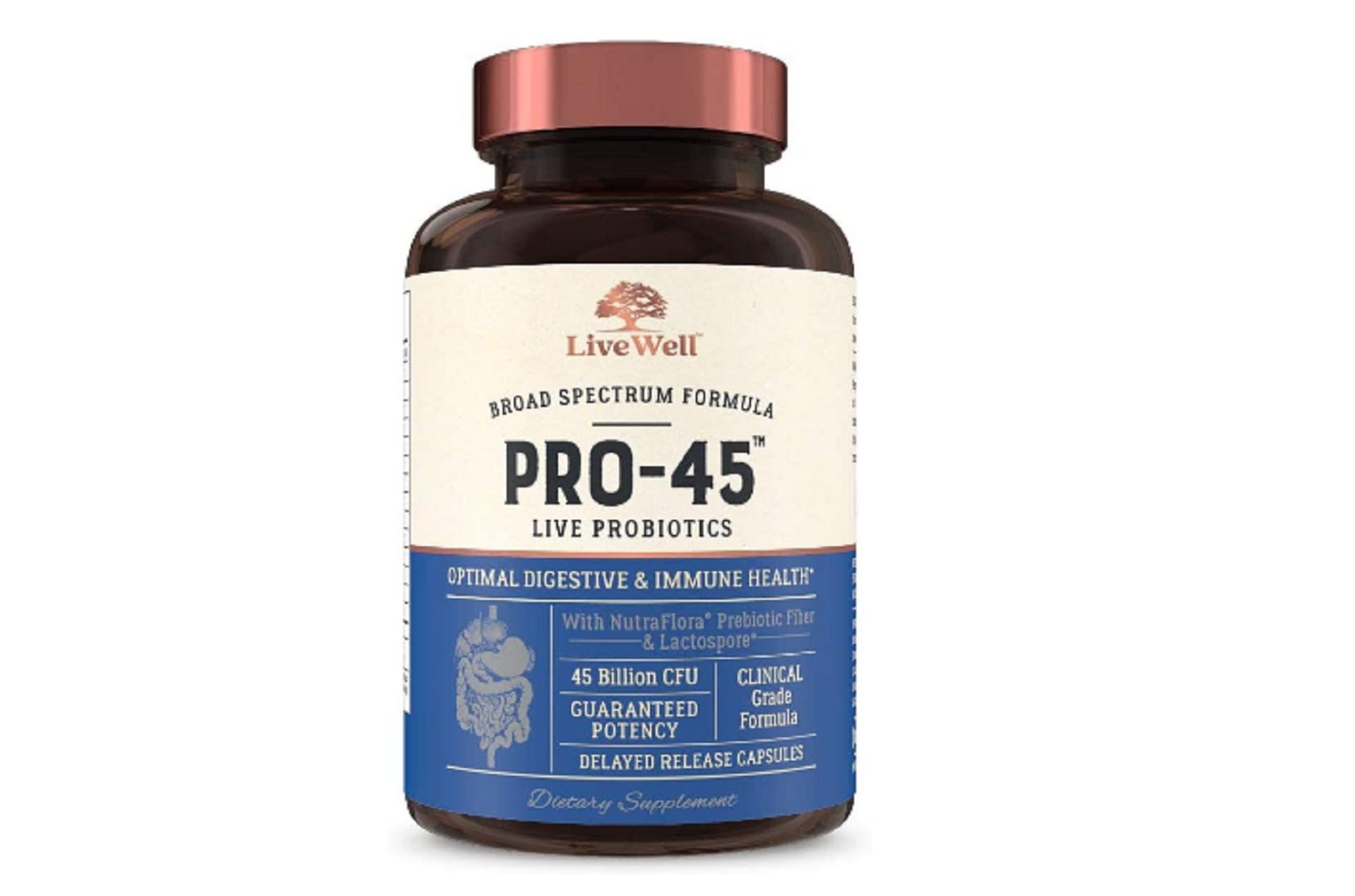 live-45 live probiotics