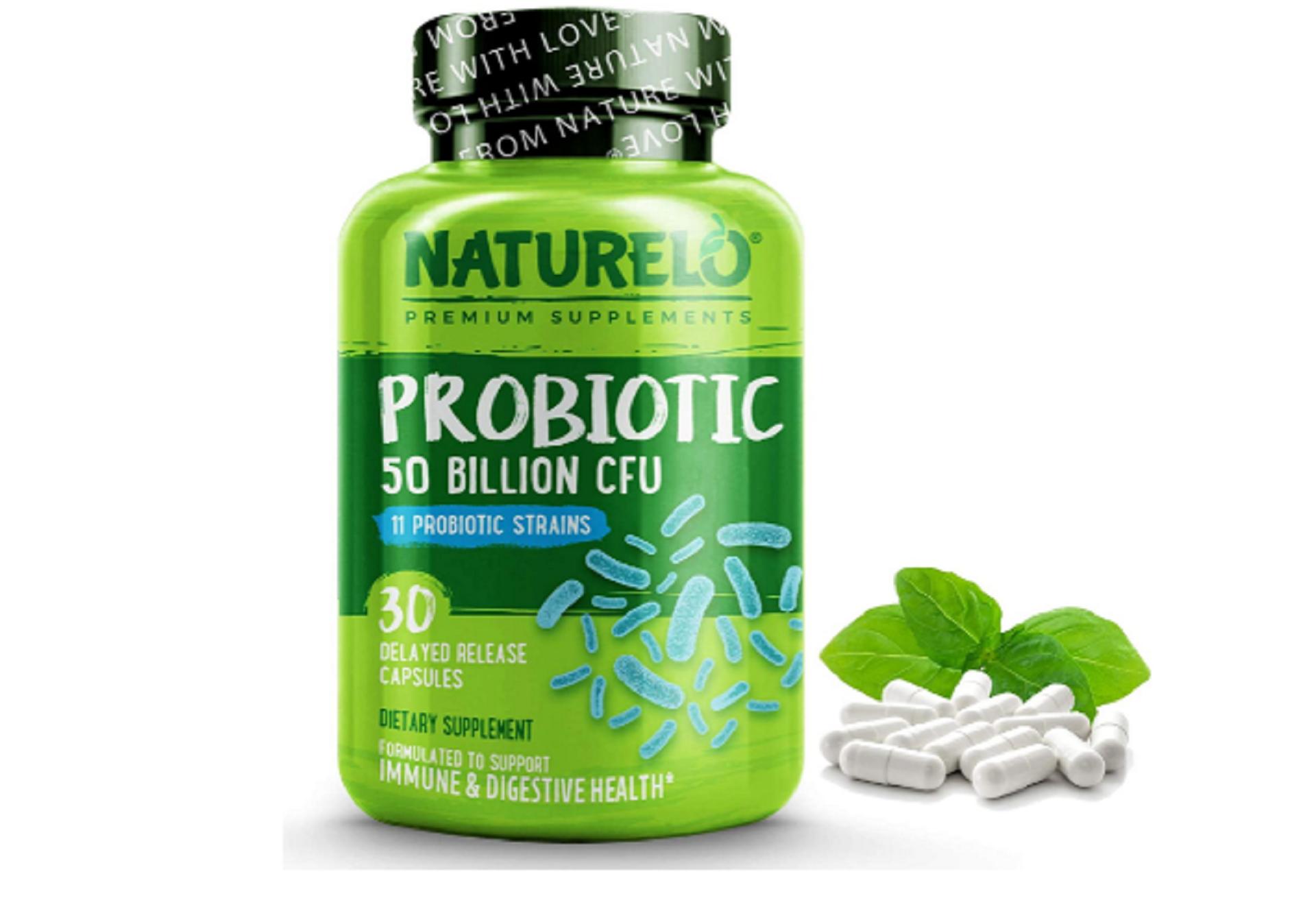 naturelo vegan probiotic supplement