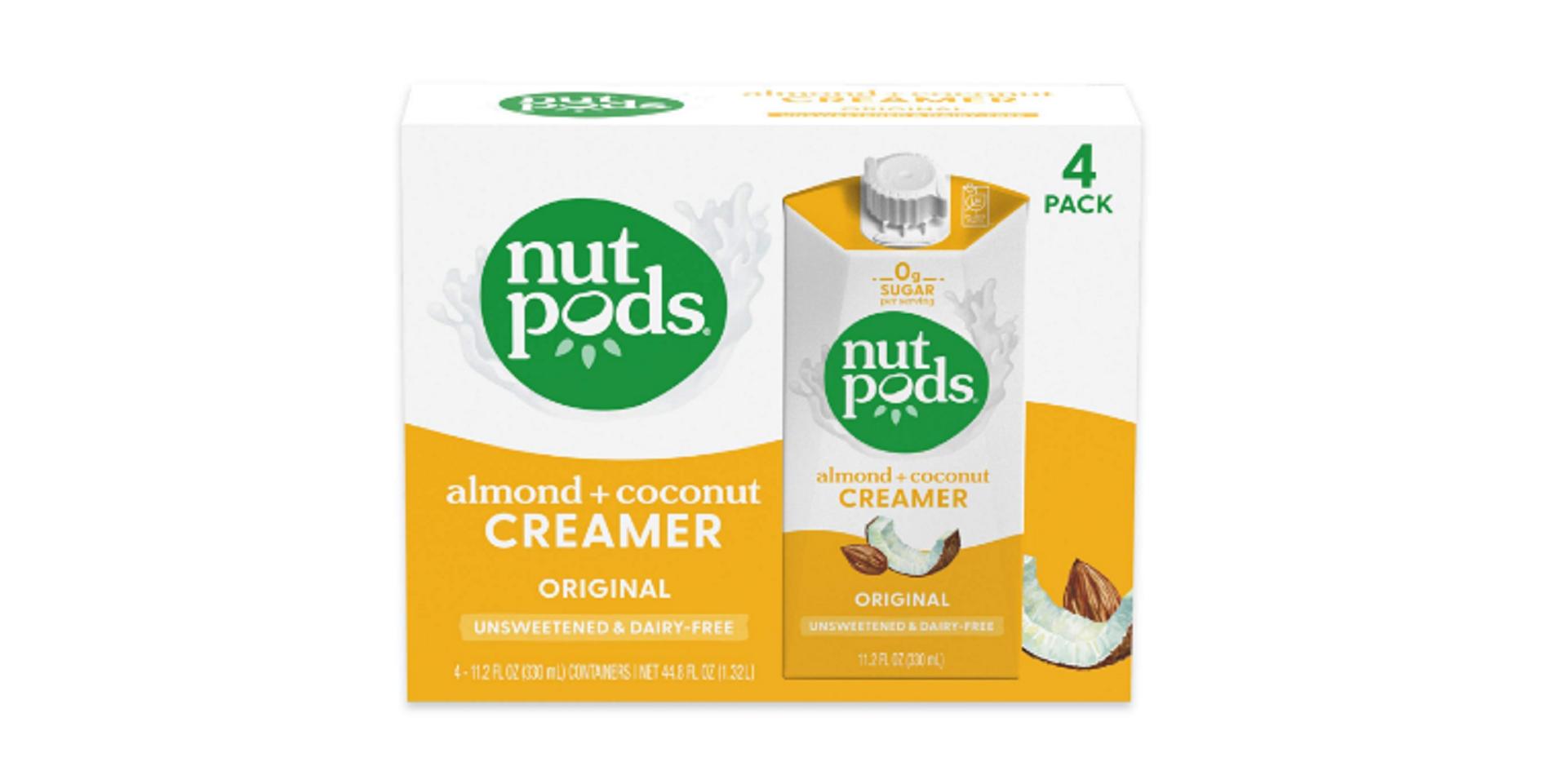 nutpods coffee creamer