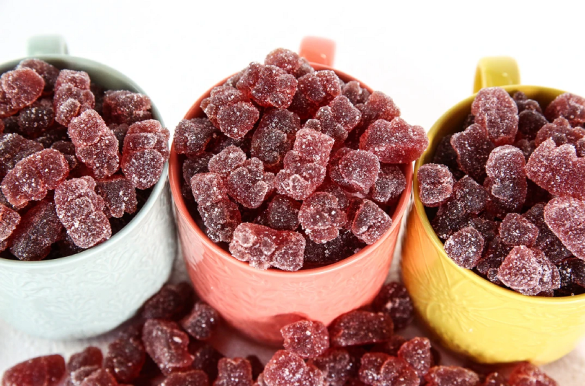 organic candy factory gummy cubs