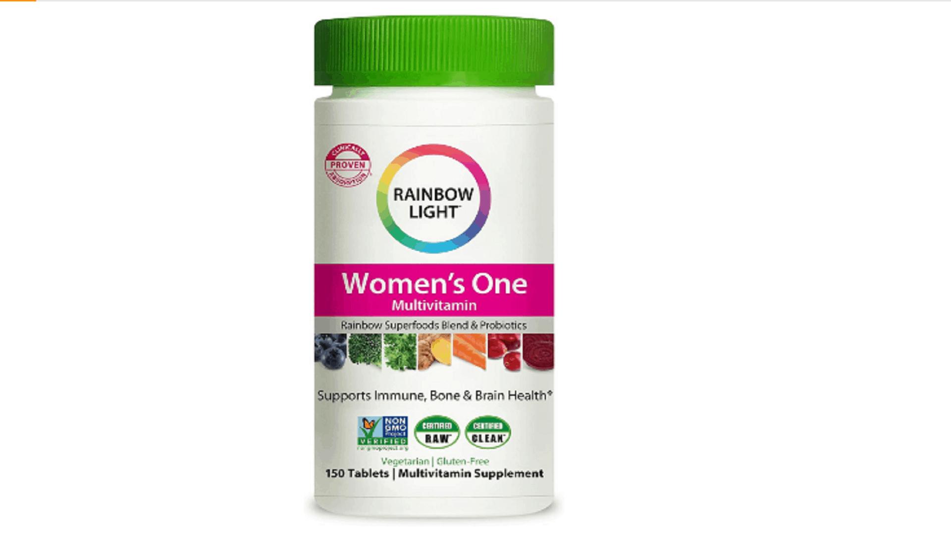 rainbow light women's multivitamin