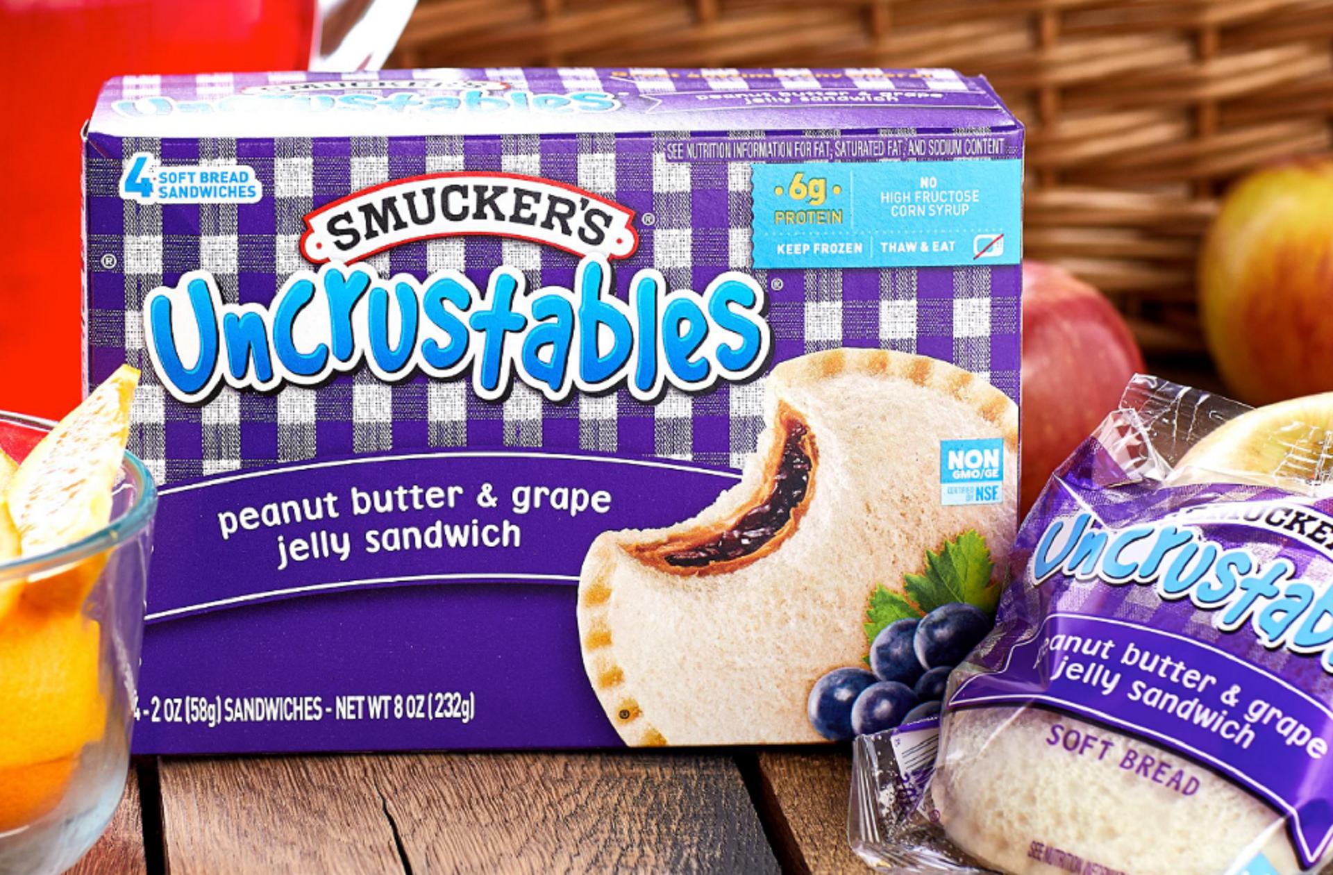 smucker's uncrsutables