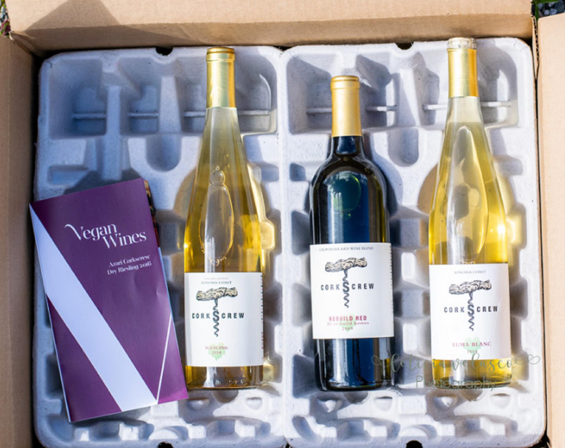 vegan wine subscription box