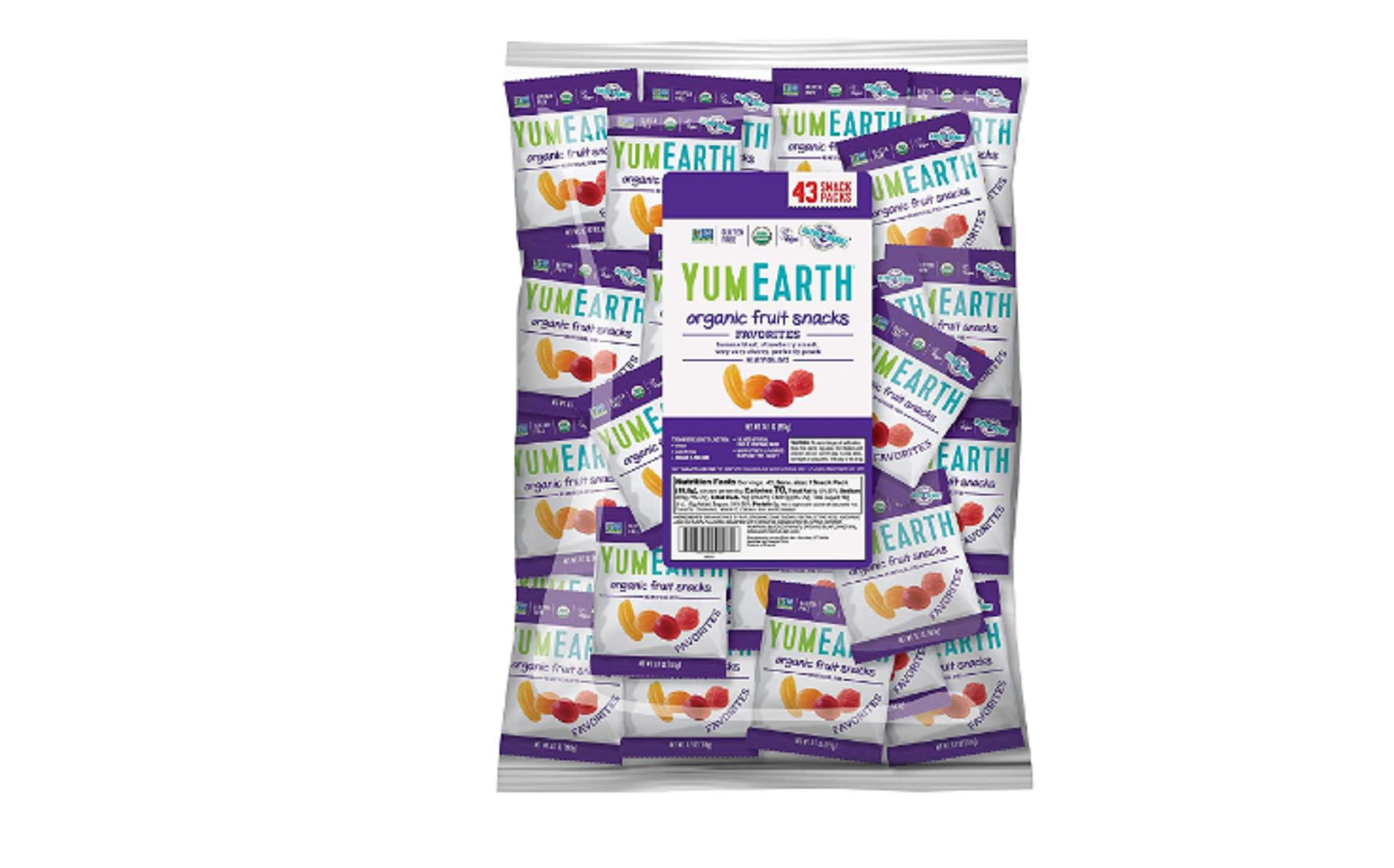 yumearth organic gummies