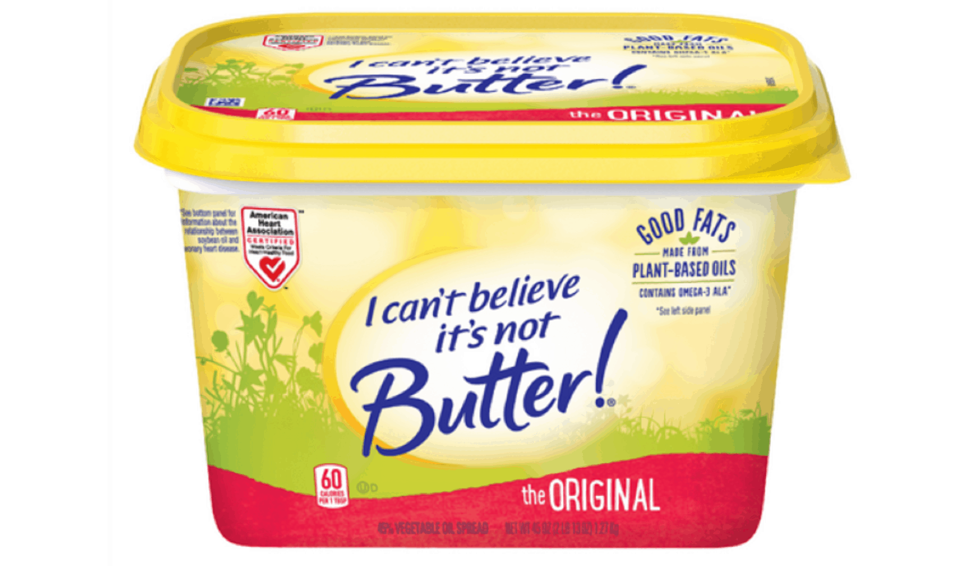 can't believe its not butter